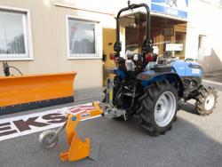 single plov med hjul for traktorer som yanmar iseki dp 20