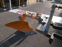 single plov med hjul for smale traktorer dp 35