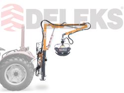 hydraulisk skovkran med skovklo for montering på traktor crab 3000