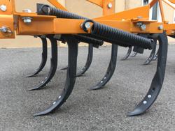 7 tind kultivator bredde 140cm til jordforberedelse og fjernelse af ukrudt mod de 140 7