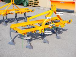 7 tinde kultivator med gåsefod skær arbejdsbredde 165cm kultivator for traktor mod de 165 7 v