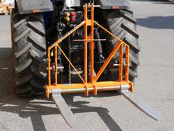 pallegaffler for jordbrugstraktorer d 700