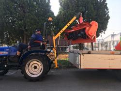 hydraulisk kran for små traktorer el 200