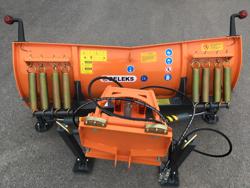 frontal sne blad med universel plade til traktor ln 175 a