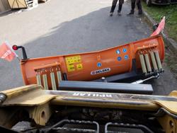 middels tungt sneblad til kompakt lastere op til 3 tonn ln 175 m