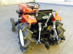 trepunktsophæng til små traktorer kubota iseki