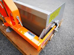 manual transport skovl med dump for traktor prm 100 l