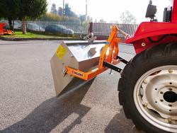 manual transport skovl med dump for traktor prm 120 l