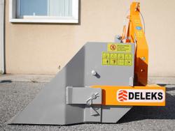 manual transport skovl med dump for traktor prm 200 h