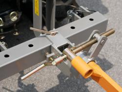single plov til traktorer som kubota eller iseki dp 16
