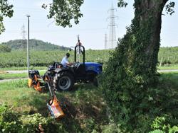 arm klipper til traktor airone 80