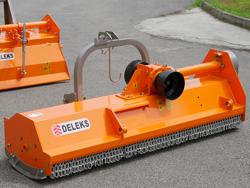 vendbar slagleklipper med sideforskydning arbejdsbredde 140 cm til smalle traktorer mod puma 140 rev