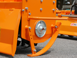 tung jordfræser for traktorer bælte traktorer arbejds bredde 135cm mod dfh 135
