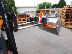 skovl med gaffeltruck fæste prm 140 lm