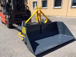 tung skovl med gaffeltruck fæste prm 160 hm