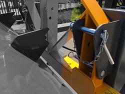 tung skovl med gaffeltruck fæste prm 180 hm