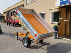 landbrugsvogn 1 5 ton med envejstip for traktor rm 12