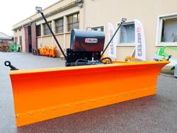 tungt sneblad til traktor med universel plade ssh 04 3 0 a