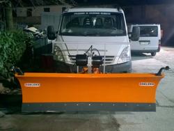 frontal sne blad til firehjuls drevne køretøjer ln 250 j