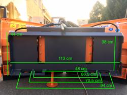 sneplov for kompakt lastere op til 3 tonn lnv 220 m