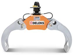 skovklo med fast pendulerende rotor for minigravemaskiner og skovbrug krane dk 16 gr 30f