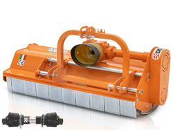slagleklipperen 185cm betepudser med justerbar sideforskyvning til traktorer med 40 70hk leopard 180 sp