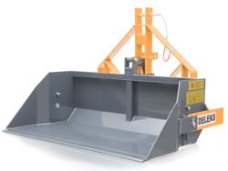manual transport skovl med dump for traktor prm 160 h
