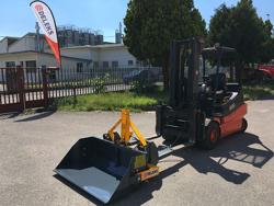 hydraulisk tung skovel med gaffeltruck fæste pri 140 hm