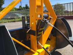 hydraulisk tung skovel med gaffeltruck fæste pri 160 hm