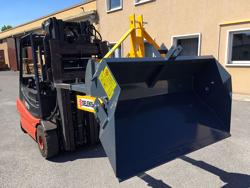 hydraulisk tung skovel med gaffeltruck fæste pri 200 hm