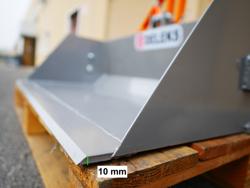 hydraulisk skovel med gaffeltruck fæste pri 120 lm