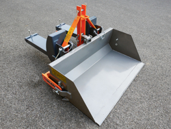 hydraulisk skovel med gaffeltruck fæste pri 140 lm