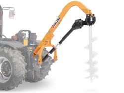 jordbor for traktor med pto aksel mod l 50