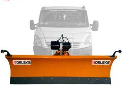 frontal sne blad til firehjuls drevne køretøjer ln 220 j
