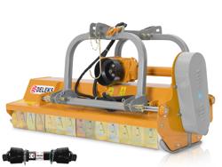 slagleklipper robust med justerbar sideforskydning for traktorer med 50 90hk mod rino 160