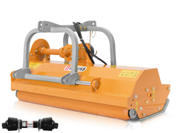 slagleklipper med hammerslagler for traktorer med reversibel eller front montering mod rino 200 rev