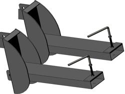 gaffeltruck fæste 140 160 180 200h