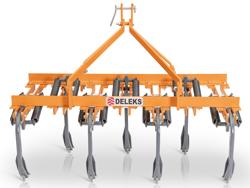 7 tind kultivator bredde 169cm til jordforberedelse og fjernelse af ukrudt mod de 165 7