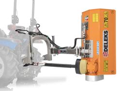 flerbrugs kantklipper læt kantklipper for traktorer volpe 165