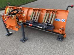 frontal sne blad med universel plade til traktor ln 250 a