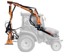 hydraulisk gren og hækkeklipper til traktor falco 130 h