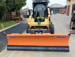 middels tungt sneblad til kompakt lastere op til 3 tonn ln 250 m