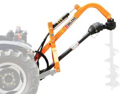 jordbor for traktor med hydraulisk system l 50h