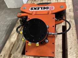 hydraulisk skovklo greb til minigraver model cf 11r