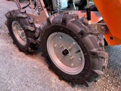 firehjulet motoriseret trillebor yamaha md 400