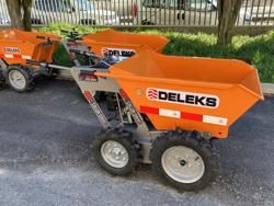 firehjulet motoriseret trillebor ducar md 400