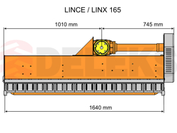 slagleklipperen med justerbar sideforskyvning flerbrugs slagleklipper med hammerslagler lince sp165