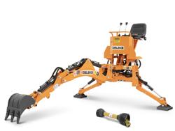 minigraver til universal kompakt traktor drs 1000