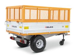 3 vejs hydraulisk tipvogn til traktor rm 14t3s