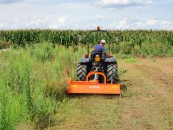 slagleklipper med justerbar sideforskyvning og hammerslagler til traktorer med 60 90hk tigre 200